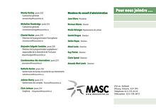 Spectacles et ateliers d'artistes de MASC 18 - 19