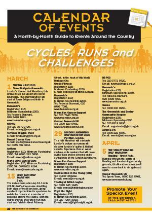 The Datebook Winter spring 2020 Calendar of Events