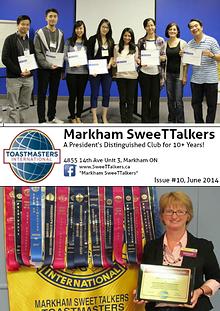Markham SweeTTalkers Toastmasters Club 4635