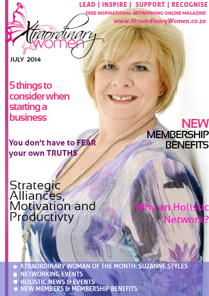 Xtraordinary Women Magazine July 2014