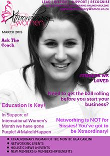 Xtraordinary Women Magazine March 2015