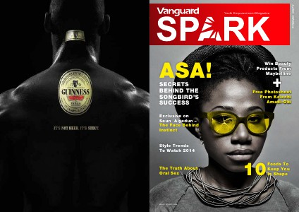 VANGUARD SPARK MAGAZINE Jan. 2014