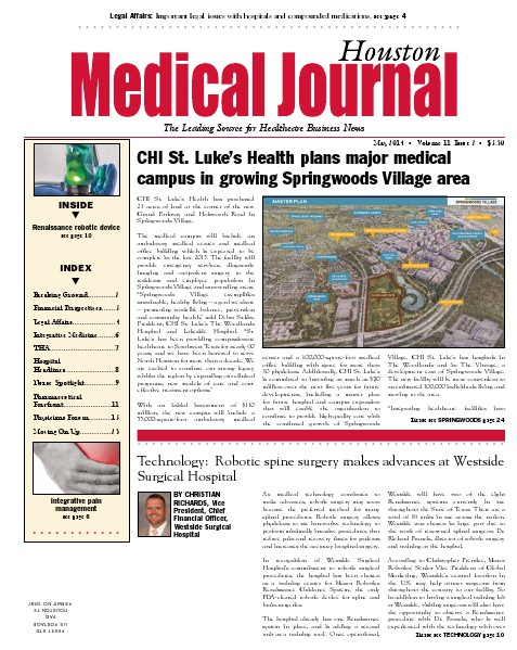 Medical Journal Houston Vol. 11, Issue 2, May 2014