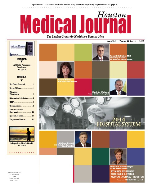 Medical Journal Houston Vol. 11, Issue 3, June 2014