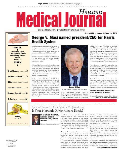 Medical Journal Houston Vol.11, Issue 5, August 2014