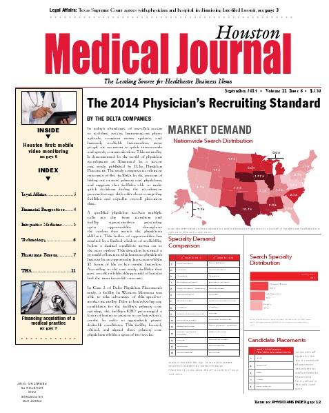Medical Journal Houston Vol. 11, Issue 6, September 2014