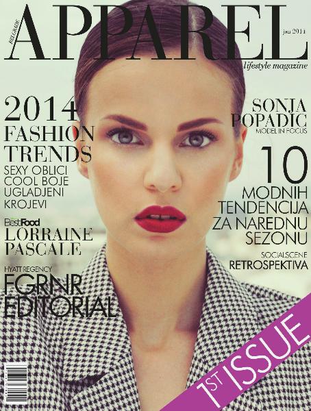 Belgrade Apparel Magazine January 2014