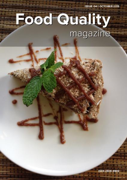 Food Quality Magazine October 2015