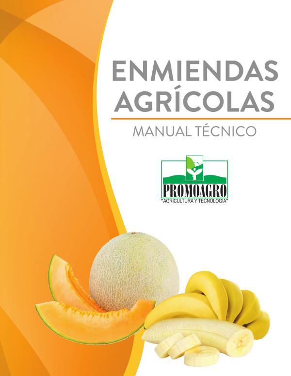 ENMIENDAS AGRICOLAS 2017