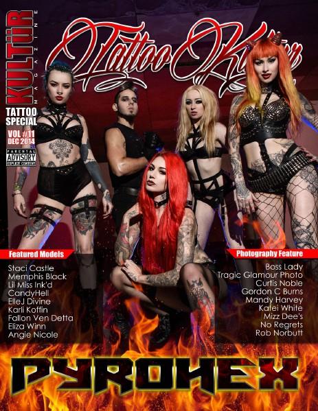 Tattoo Kultur Issue 11.1 - December 2014