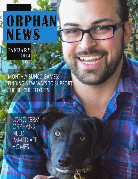 Orphan News Jan. 2014