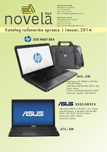 Katalog računarske opreme_Januar,2014_Novela Novela_Januar,2014
