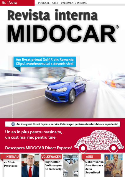 Revista interna MIDOCAR 1/2014