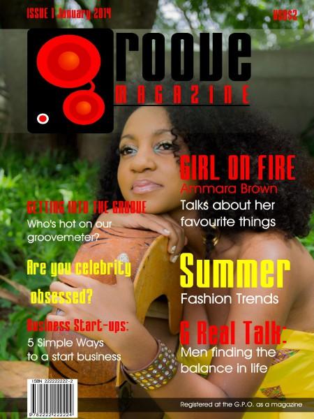 Groove Magazine Zimbabwe Issue 1