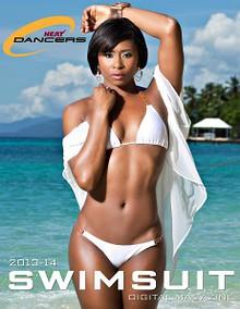 2013-14 HEAT Dancer Swimsuit Magazine