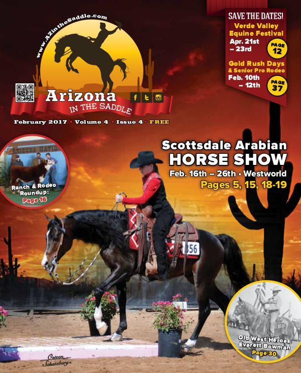 Arizona in the Saddle volume 4 issue 4