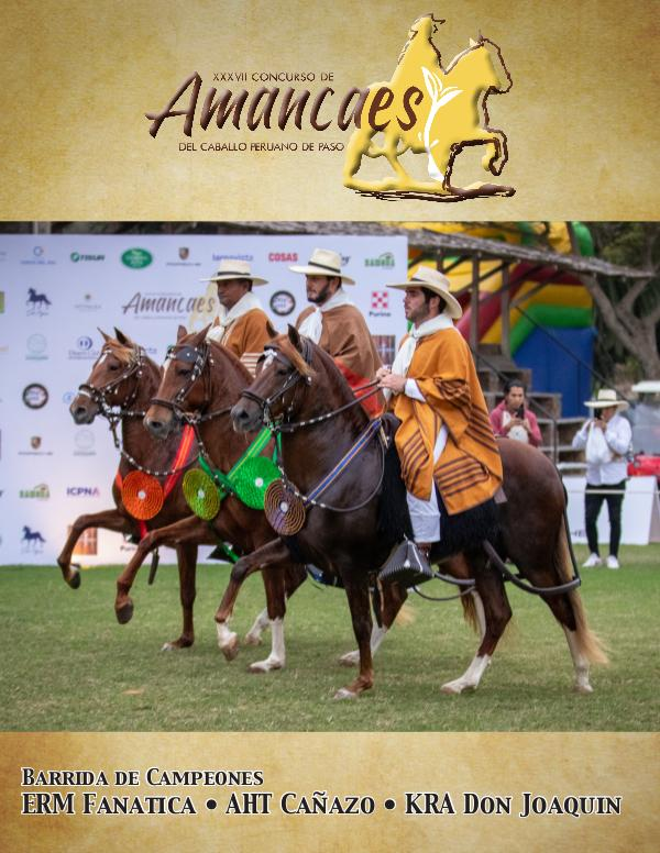 Anuario del 2019 Concurso de Amancaes 2019 Amancaes Anuario