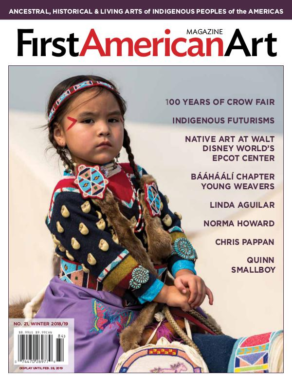 First American Art Magazine No. 21, Winter 2018/19