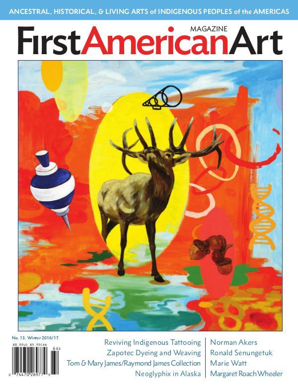 First American Art Magazine No. 13, Winter 2016/17