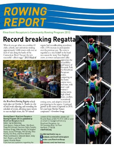 Rowing Report January 2014