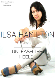 ILSA HAMILTON Magazine