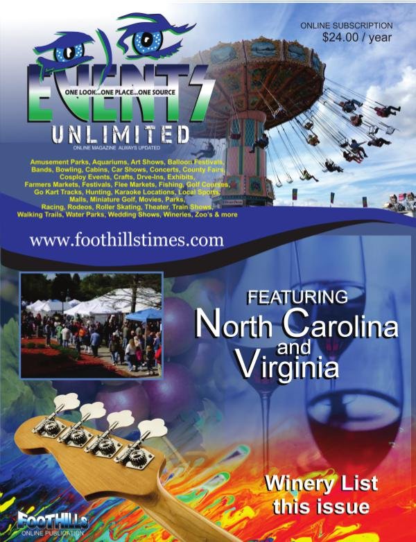 EVENTS UNLIMITED EVENTS UNLIMITED
