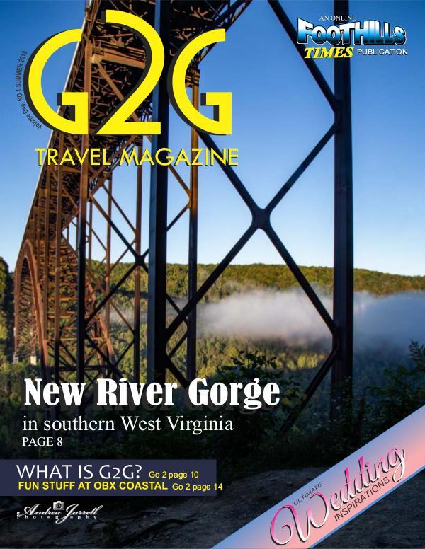 G2G TRAVEL MAGAZINE NO 1 Got To Go 1 2019