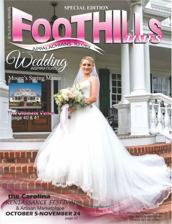 Foothills Times September 2019 Foothills Times Magazine
