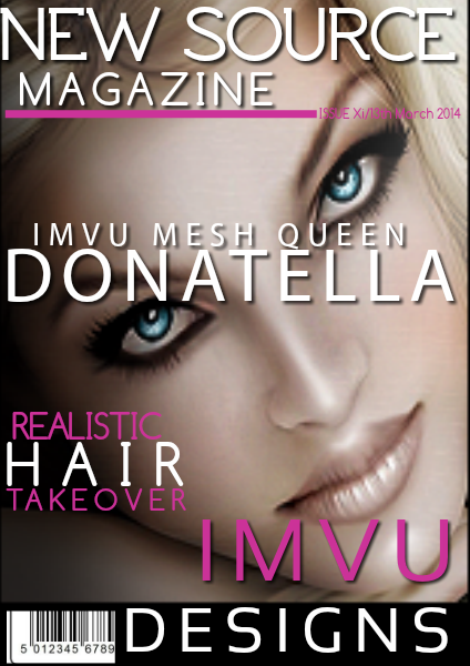 NEW SOURCE Magazine Donatella Queen Mesher