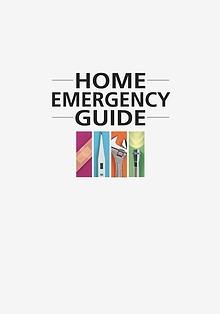 Home Emergency Book
