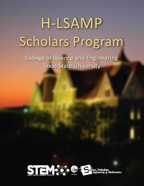 H-LSAMP Graduating Seniors Books Volume 2014