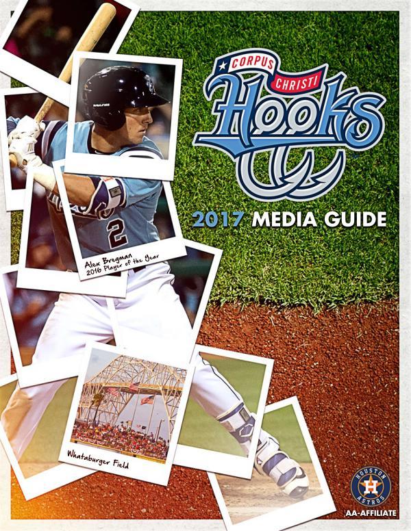 2017 Corpus Christi Hooks Media Guide