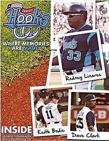 2017 Corpus Christi Hooks 2nd-Half Program