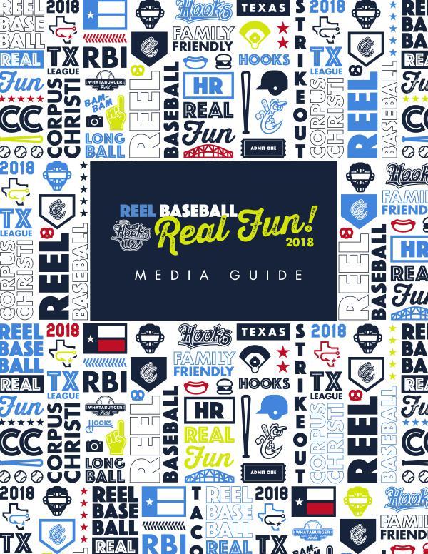 2018 Corpus Christi Hooks Media Guide