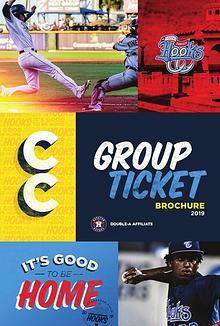 2018 Corpus Christi Hooks Ticket Brochure