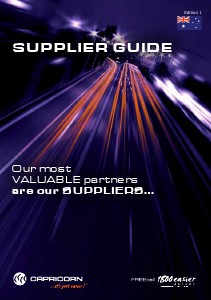 Supplier Guide 2014 Jan. 2014