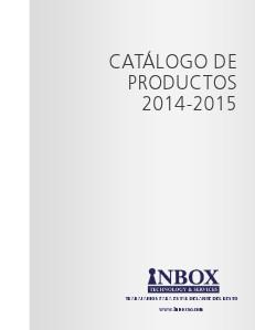 Catalogo-Inbox INBOX 2014-2015