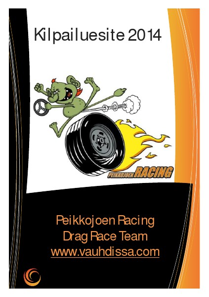 Peikkojoen Racing 2014 Kilpailuesite 2014