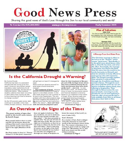 Good News Press Early Summer 2015