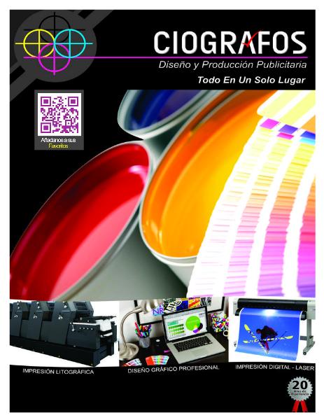 CIOGRAFOS Diseño y Producción Publicitaria. JAN 2014
