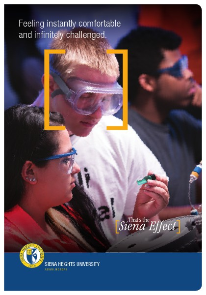 Siena Heights University Viewbooks