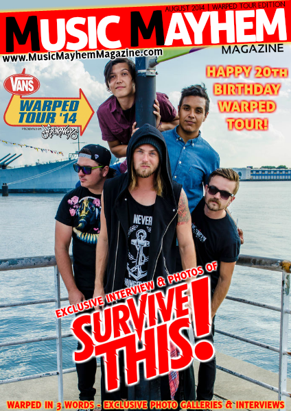 Music Mayhem Magazine August 2014 : ISSUE #6 (Warped Edition)