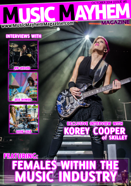 October 2014 : ISSUE #8 (Females in Music)