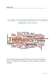 Consumer Telematics