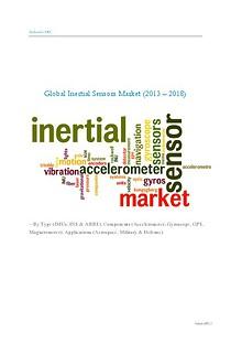 Global Inertial Sensors