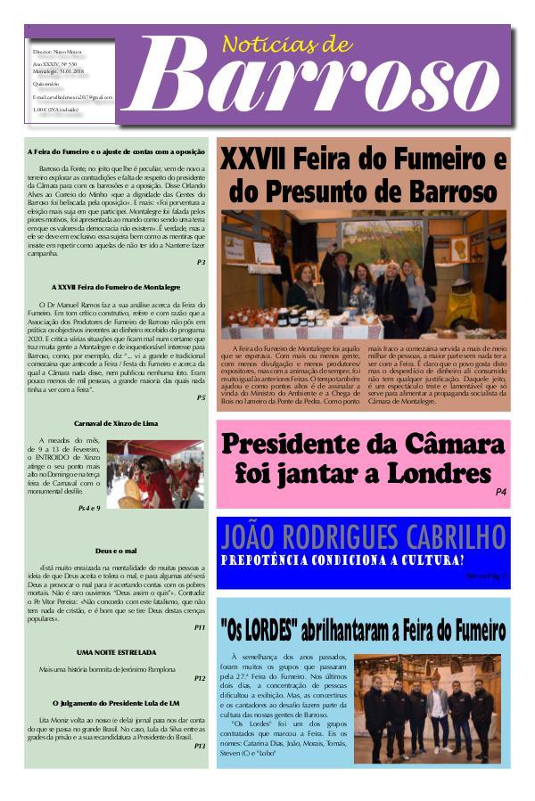 Notícias de Barroso N 530 nbn530