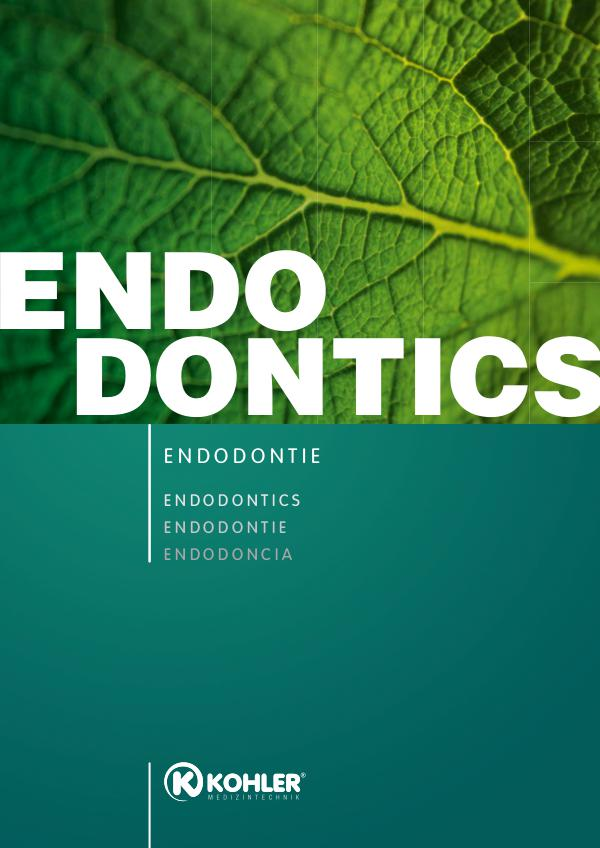 Kohler Instruments Endodontics 2018_Kohler_Endodontics