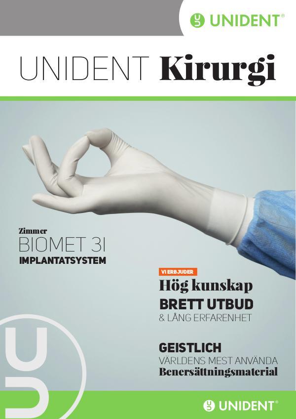 Unident Kirurgikatalog Implantat Edition
