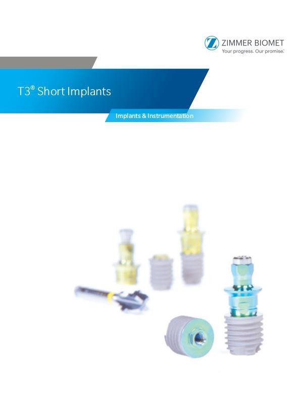 Unident Kirurgikatalog T3 Short Implant