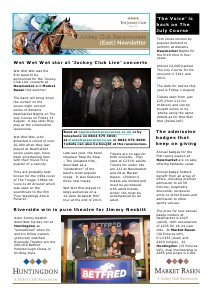 JCR East newsletter New Year 2014 (January-March 2014)